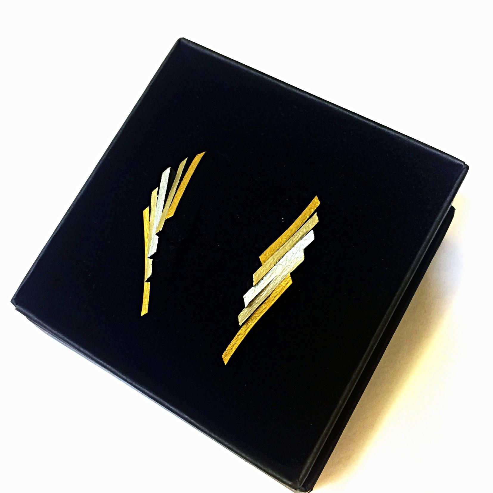 Flight Earrings Commission blended gold-silver - Jan17.jpg