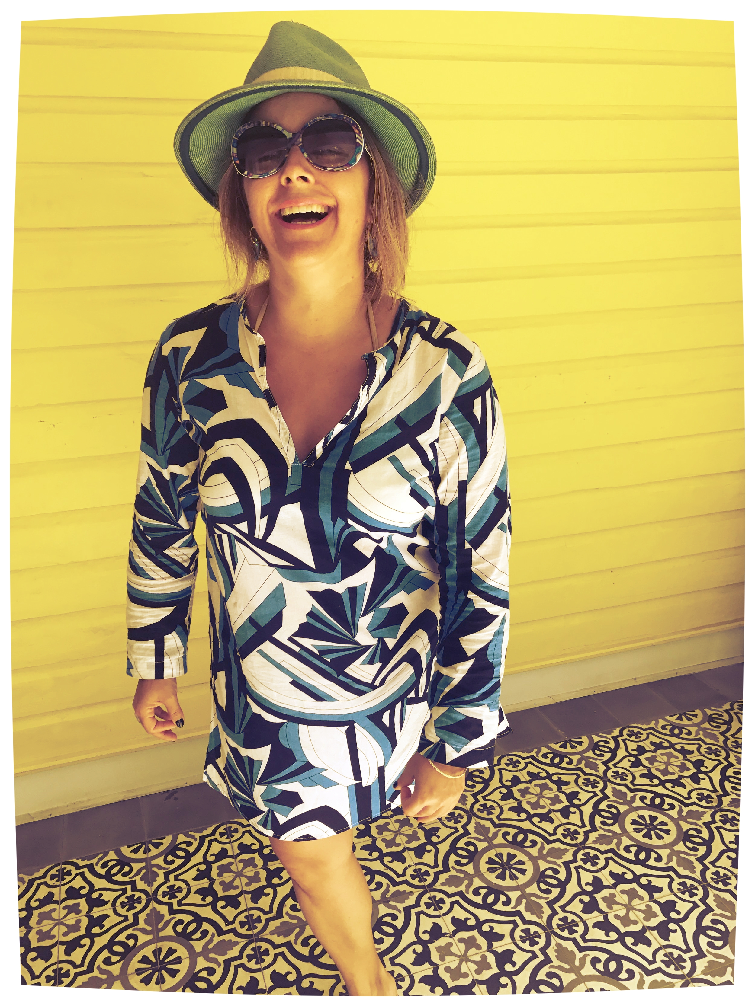 This is our chief #mersurmuse in the same print, deco drive but in the LULU tunic......shop now because we only have 3  left. Of course we want you to have one! All Mersur's are   100% made in America   and our limited edition print tunics. So you won't see someone else wearing this at a beach near you! Hello Beaches!