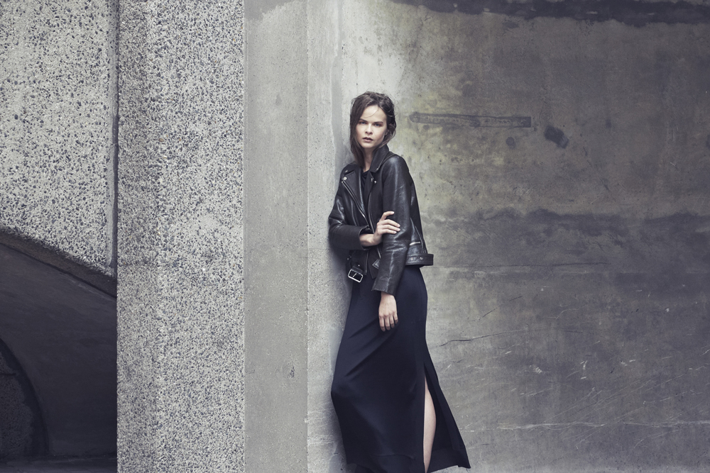Jacket and Dress: The Kooples