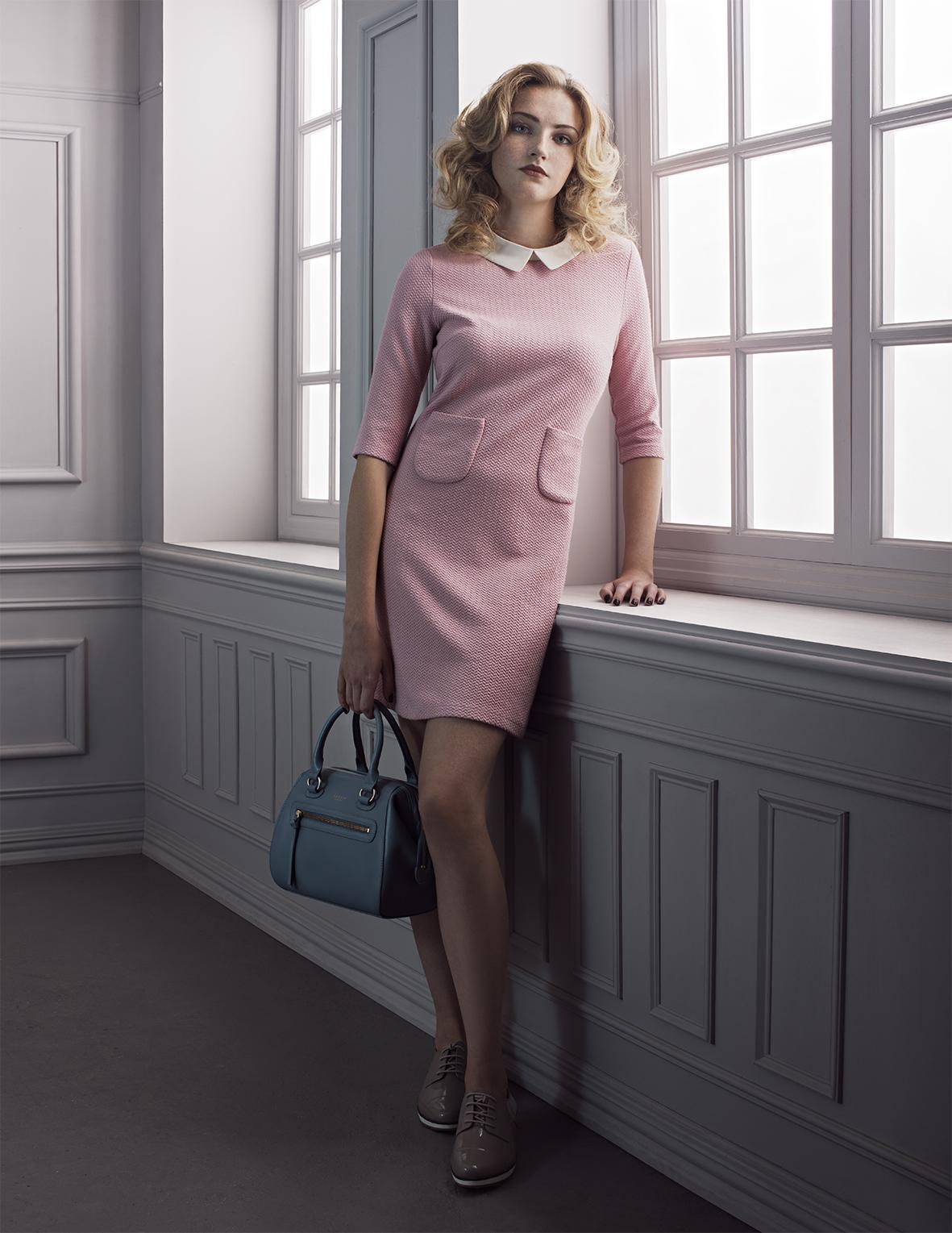 Dress Miss Pattina, Shoes Clarks, Bag Radley