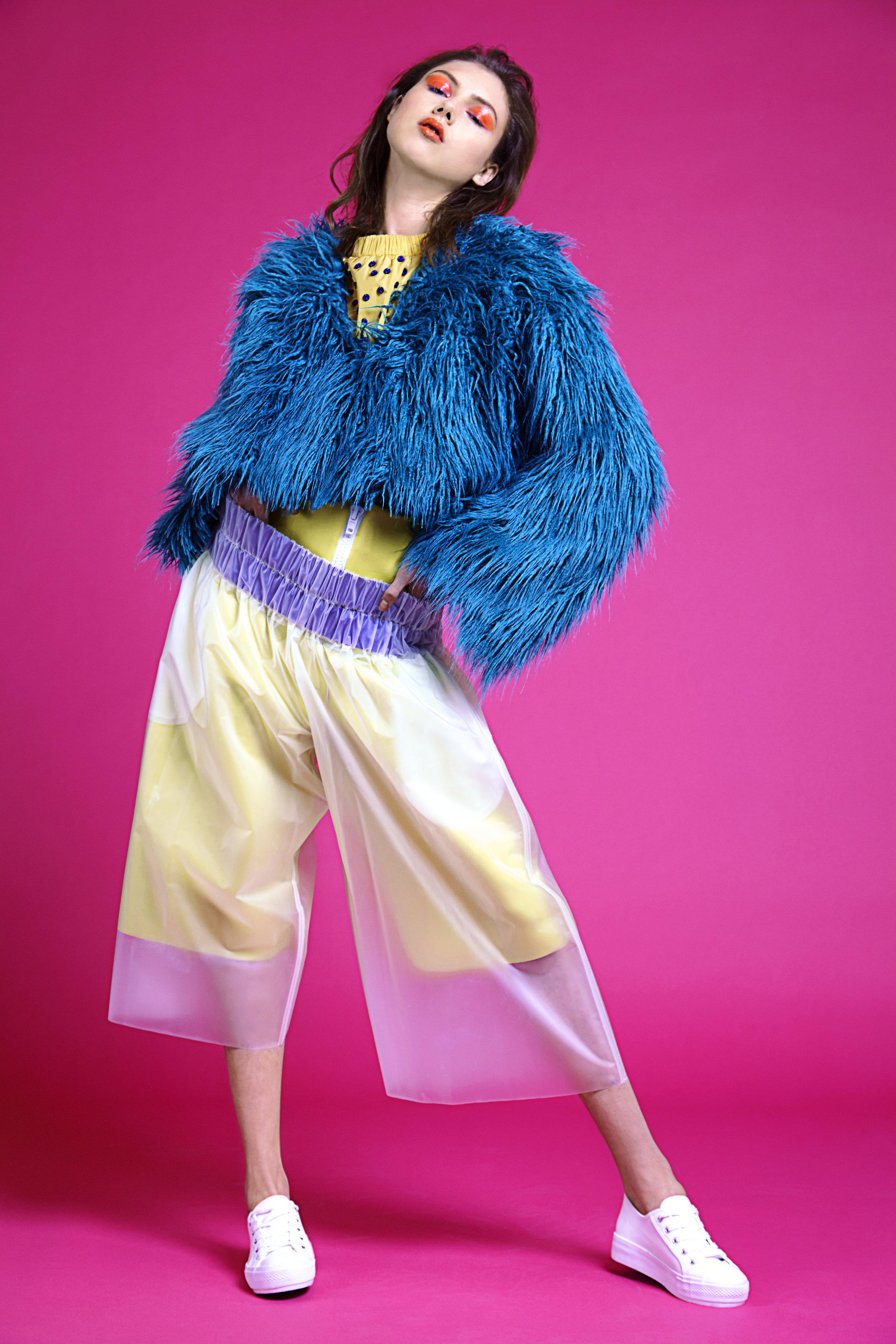 Top  Nataliya Brady , Jacket  Jade Davies , Trousers  Nataliya Brady , Shoes  New Look