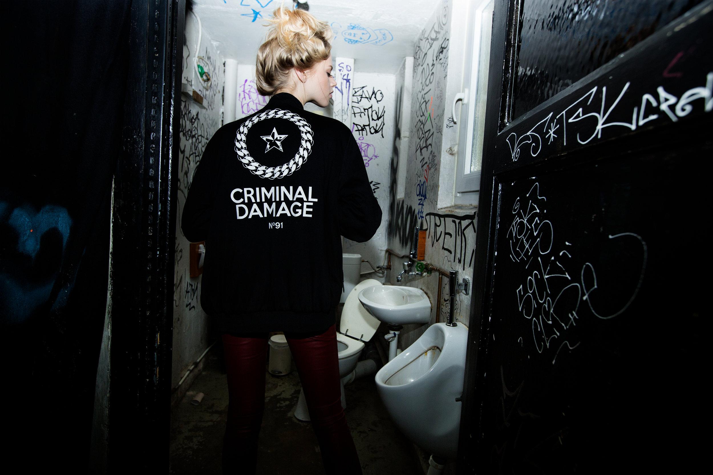Jacket: Criminal Damage,Pants: Vintage