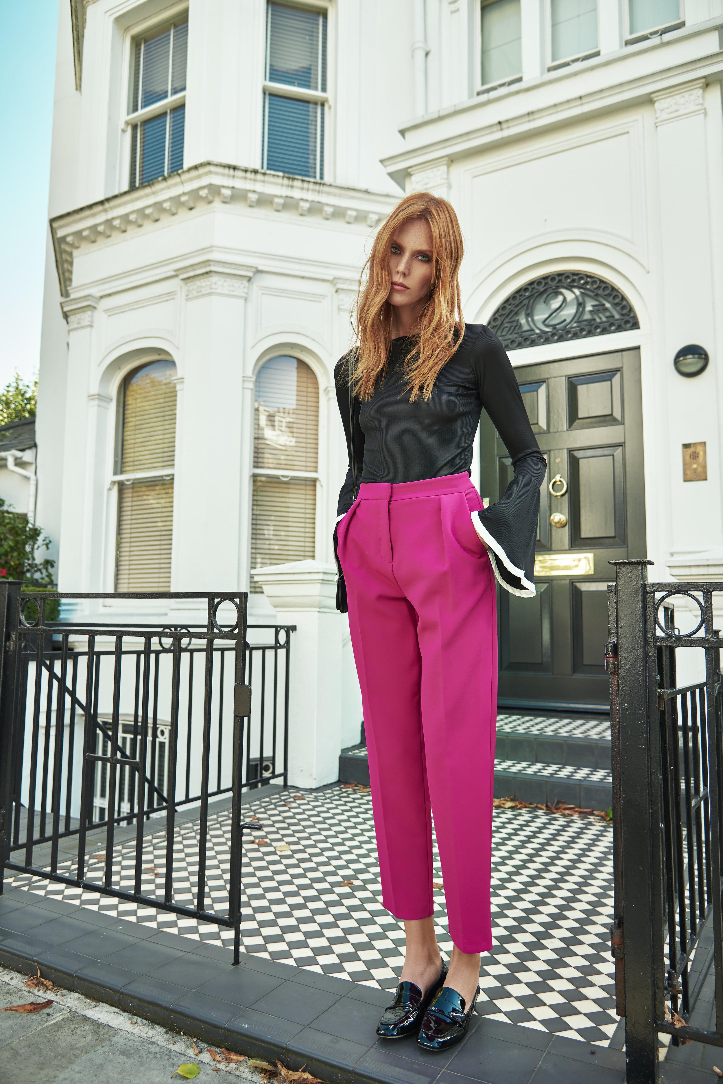 Top  Zara ,Trousers  Topshop ,Shoes  River Island