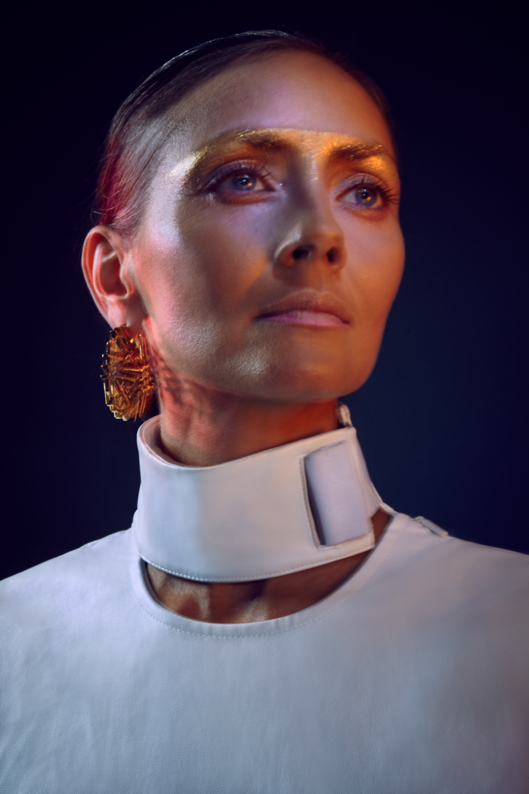Top by Helter, Earrings by Maria Piana