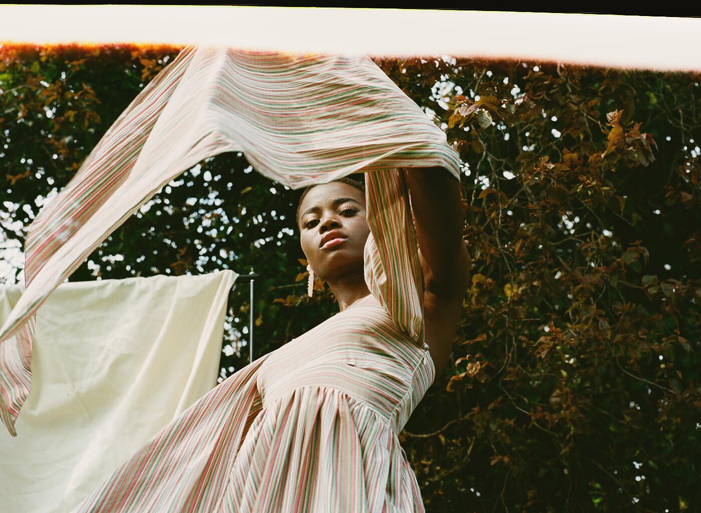 Earrings-Jennifer Loiselle  Dress -Isa Arfen