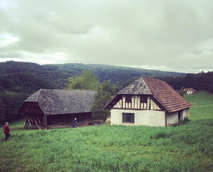 August 2017 - The remote farm in Ljubljana, Slovenia where I filmed the role of Monica Kall in the feature Intrigo - Samaria directed by Daniel Alfredson. I filmed my scenes with Jeff Fahey, Andrew Buchan and Cal MacCannich.