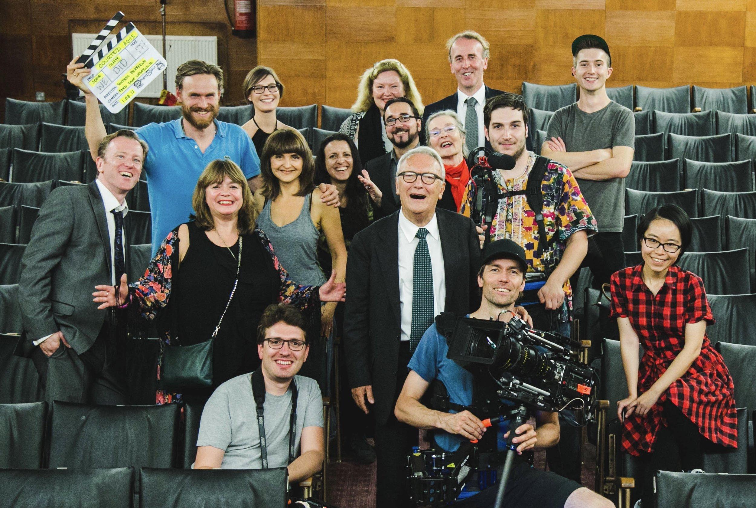 August 2017 - Final scenes remaining Cast/Crew wrap photo for @courtedfilm.