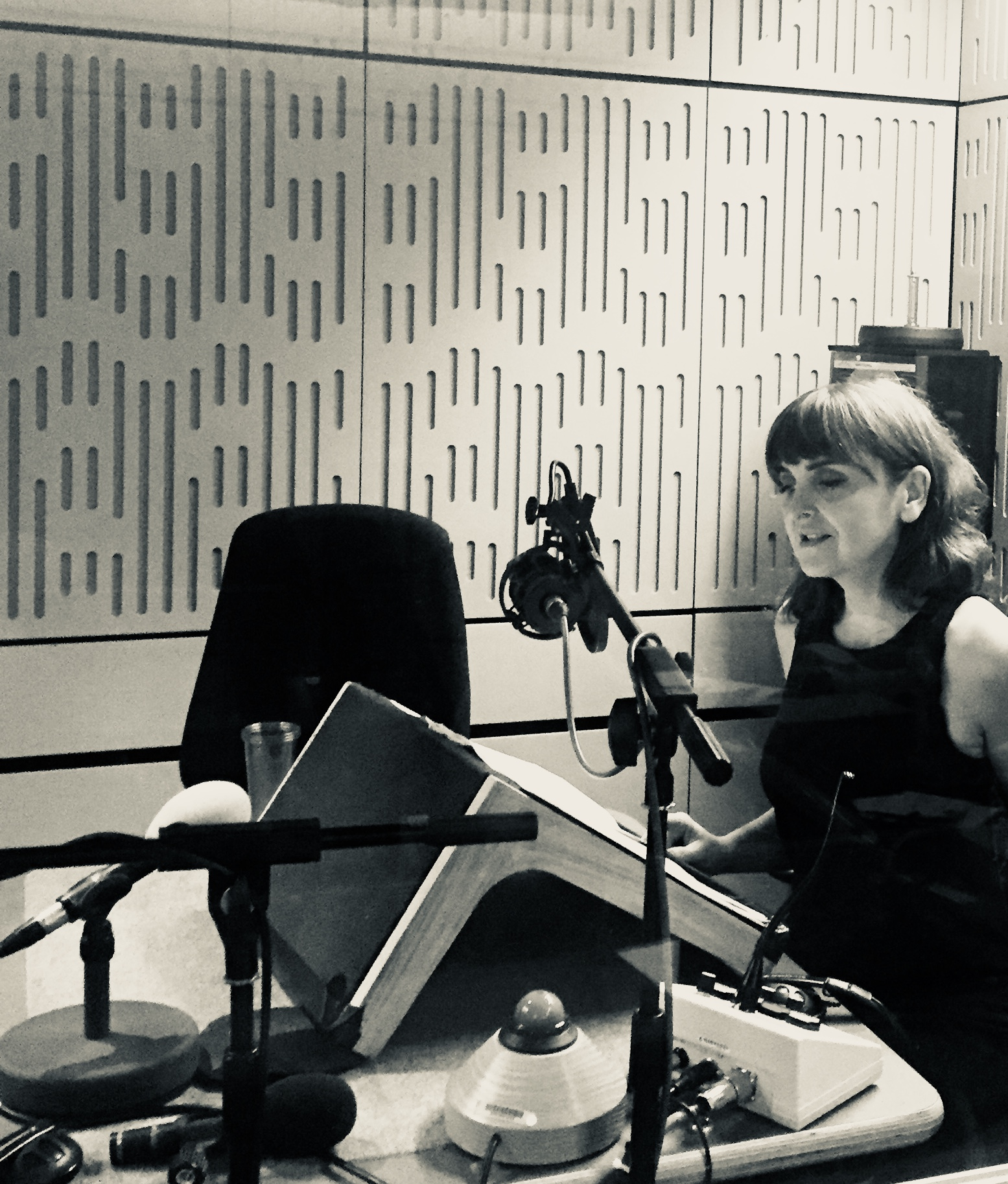 November 2017 - Recording Ten Episodes of Eleanor Olliphant is completely Fine by Gail Honeyman for BBC Radio 4 -Book at Bedtime directed by Justine Willet.