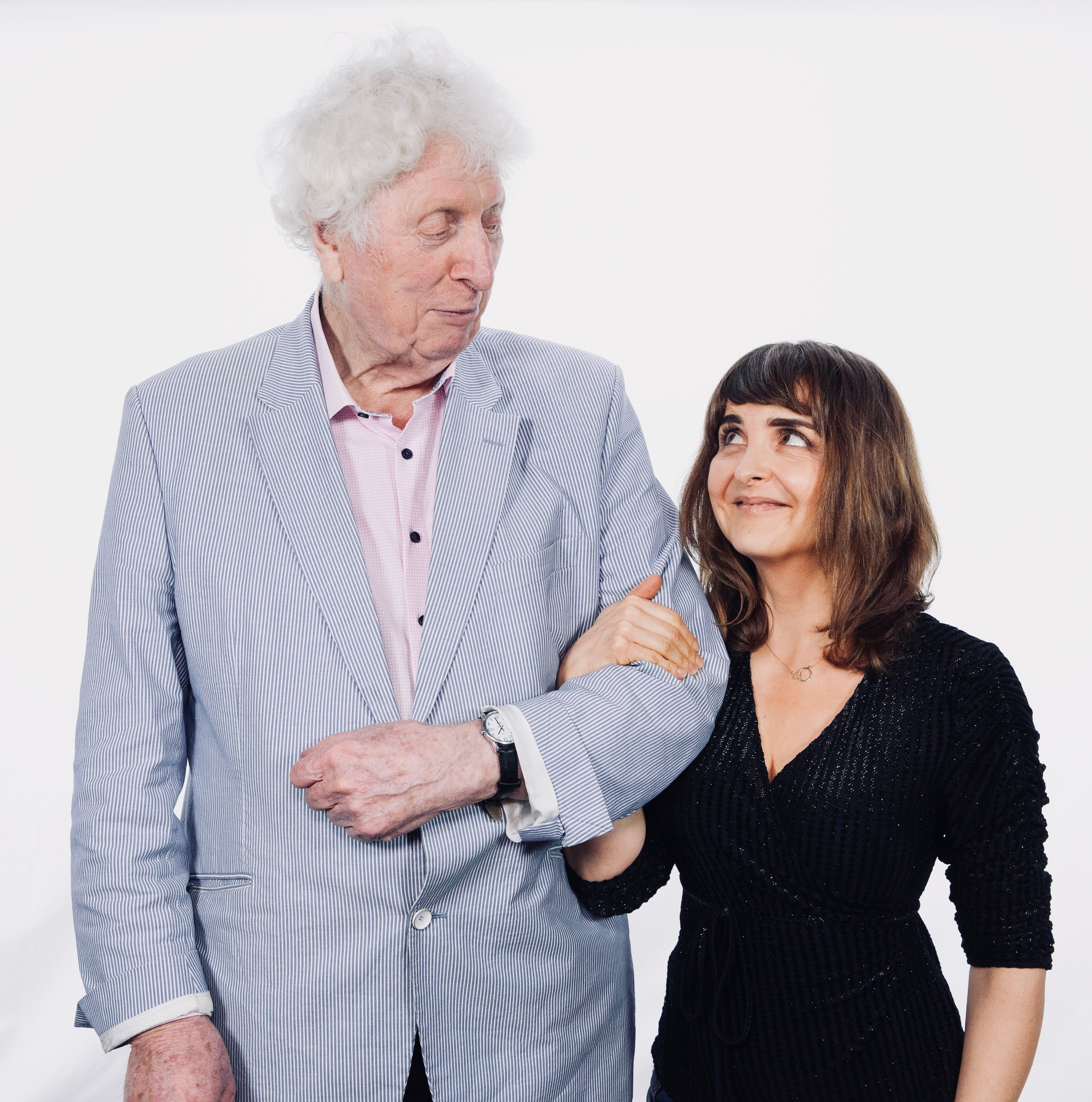 Tom Baker and Tracy Wiles 2.jpg