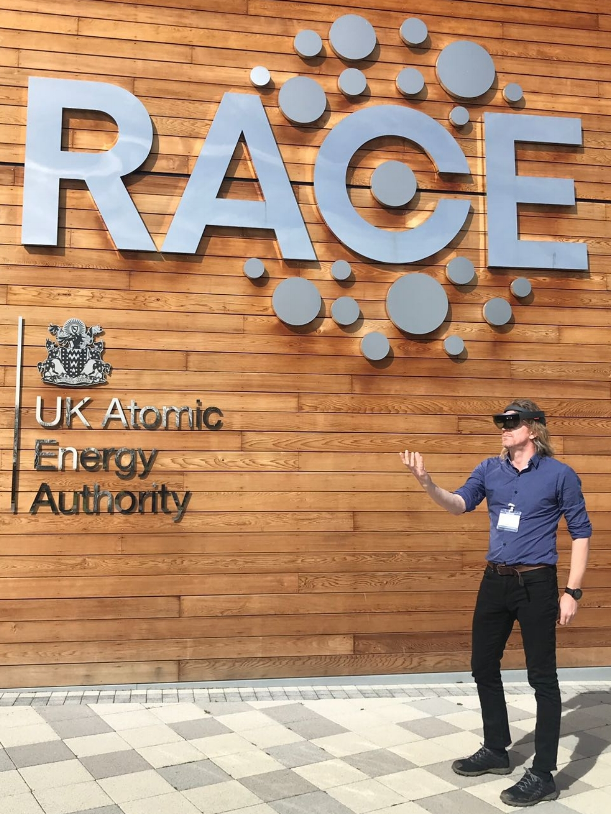 Steve visits RACE at the UK Atomic Energy Authority at Culham.