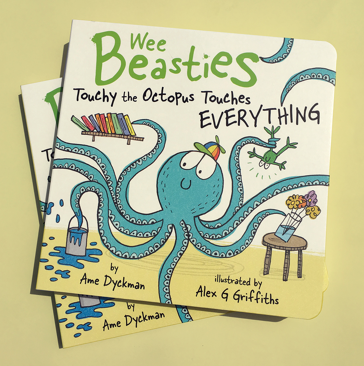 Touchy The Octopus  The 3rd book in the Wee Beasties series is OUT NOW -  Buy a copy here