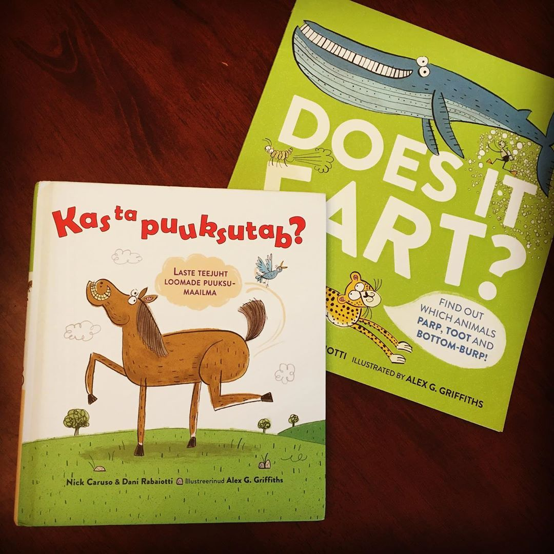 'Does It Fart' Estonian and UK co-editions