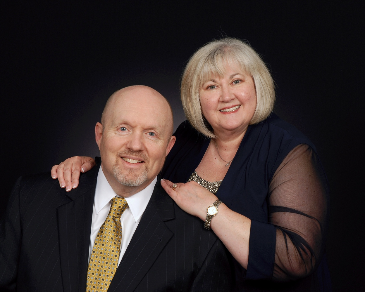Pastor Greg and Glenna would love to get to know you. -