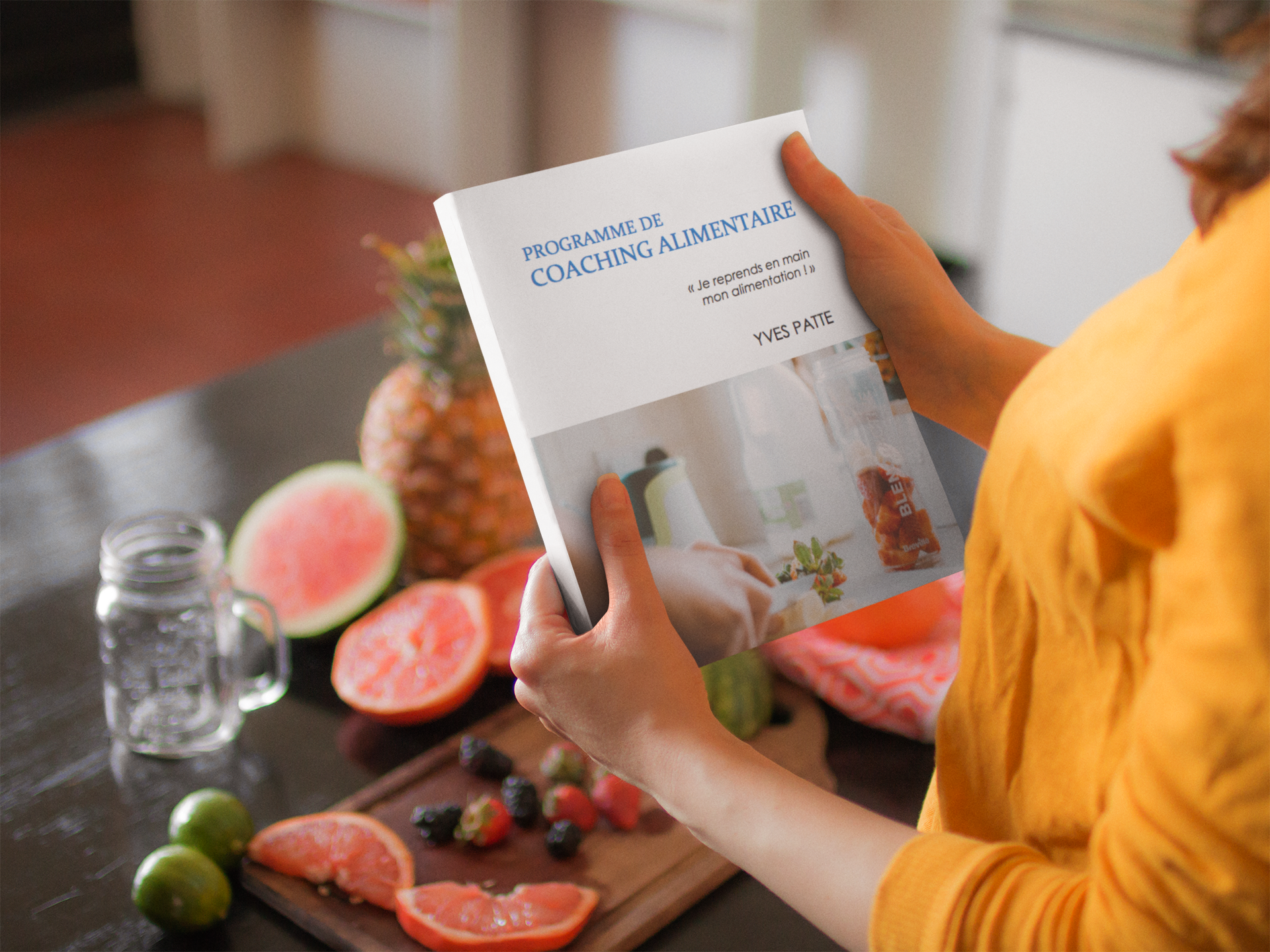 woman-holding-a-book-template-while-at-the-kitchen-a14437.png