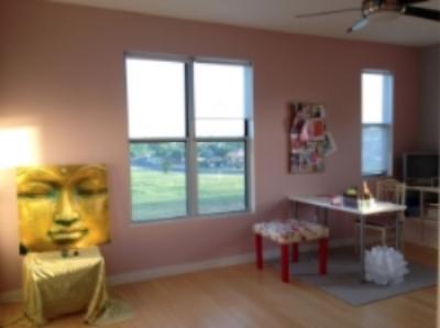 The Yoga/Craft Room