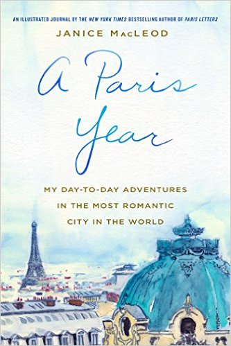 Janice's new book,  A Paris Year , will be released in in June.