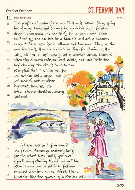 Janice's Paris in Autumn from  A Paris Year