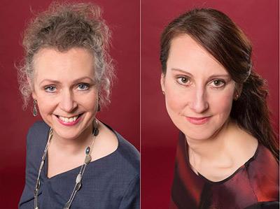 Left: Claudia Hulshof, right: Lynsey Dubbeld