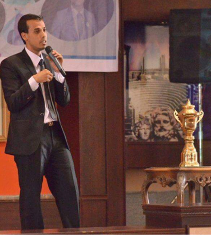 Alaa Obeida       EYouth Founder explains who will be rewarded with the Cup