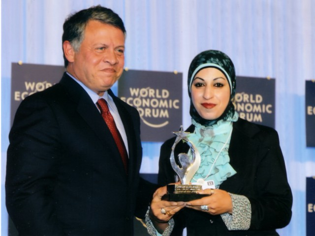 Fida has received the 1st Place in Kind Abdullah II of Excellence and Youth Innovation Award