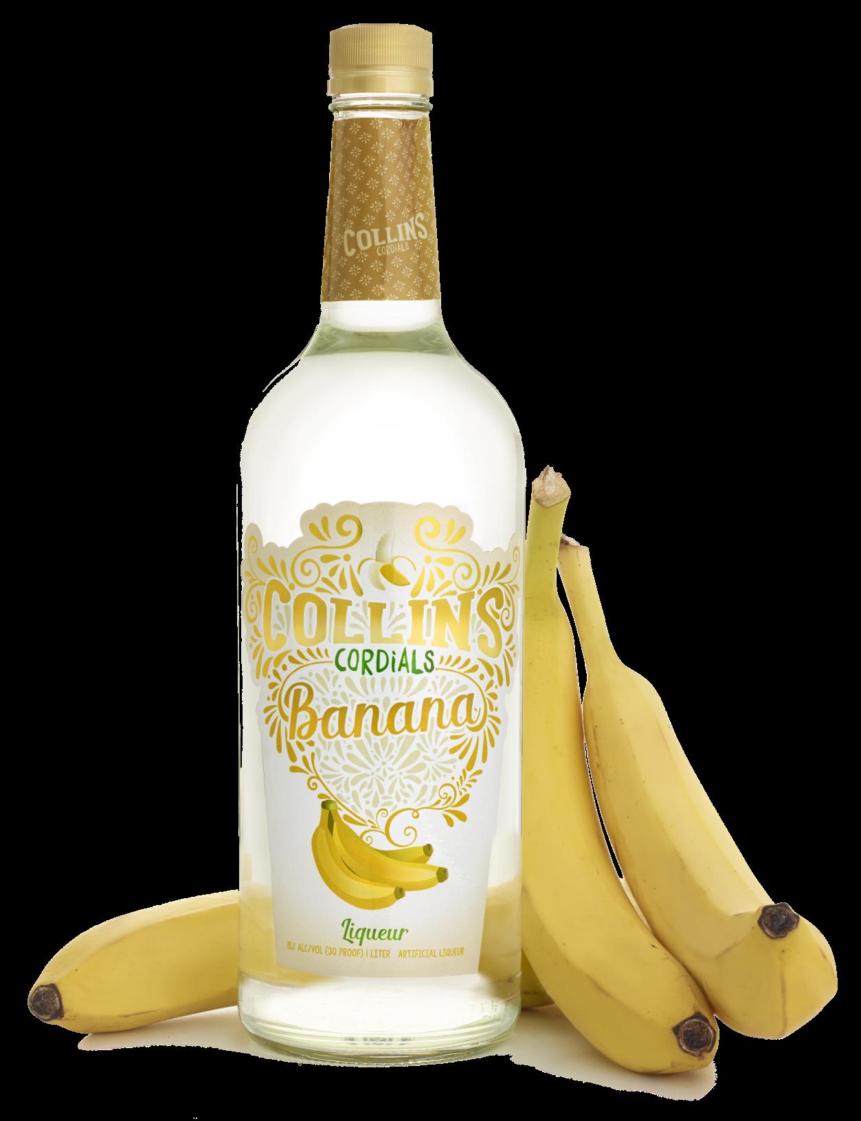 Banana Liqueur   Collins Cordials