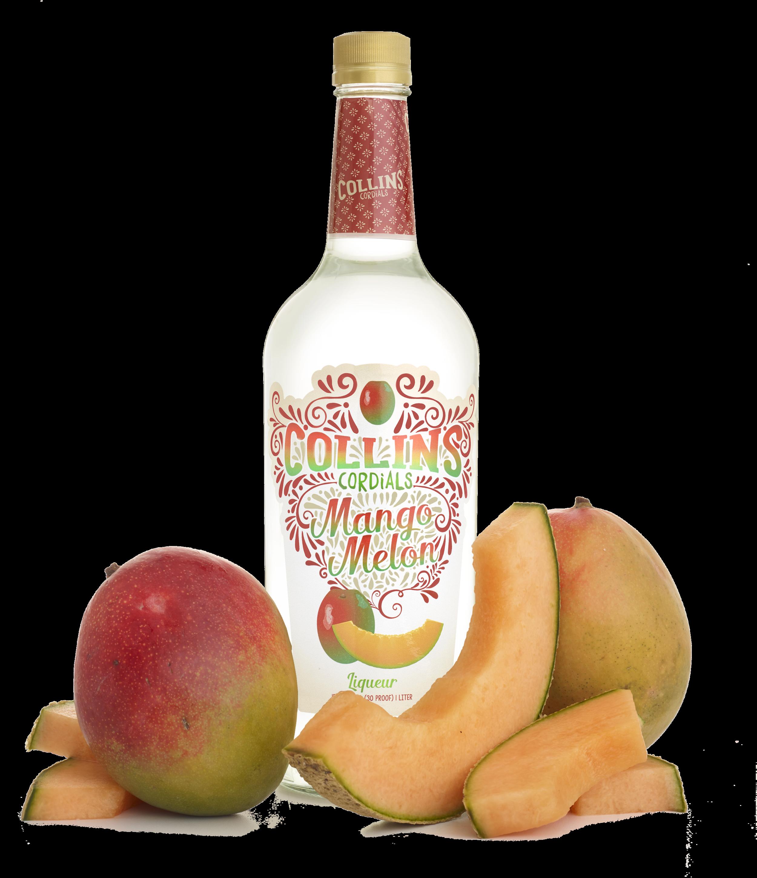 Mango Melon Liqueur | Collins Cordials
