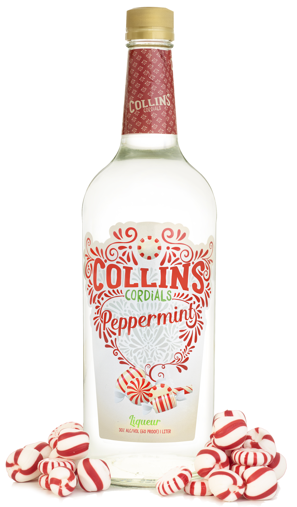 Peppermint Liqueur | Collins Cordials