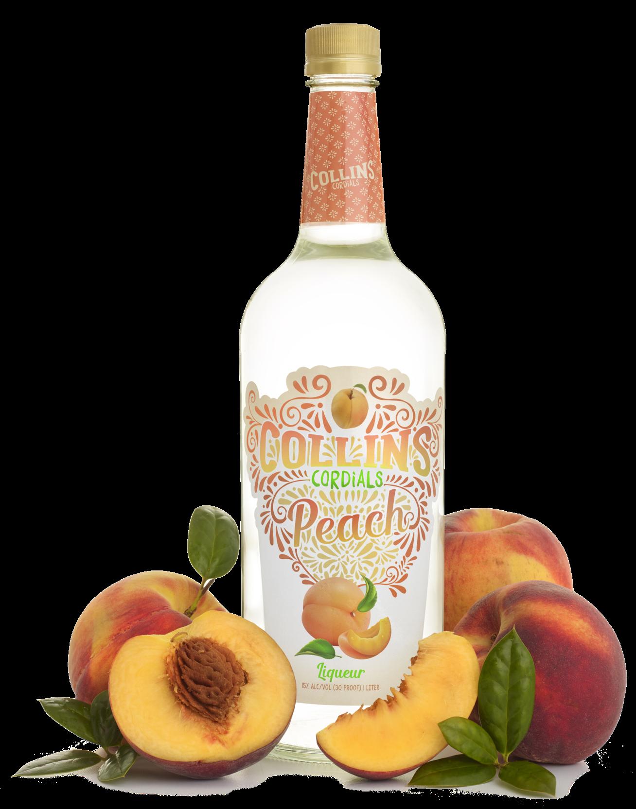 Peach Liqueur | Collins Cordials