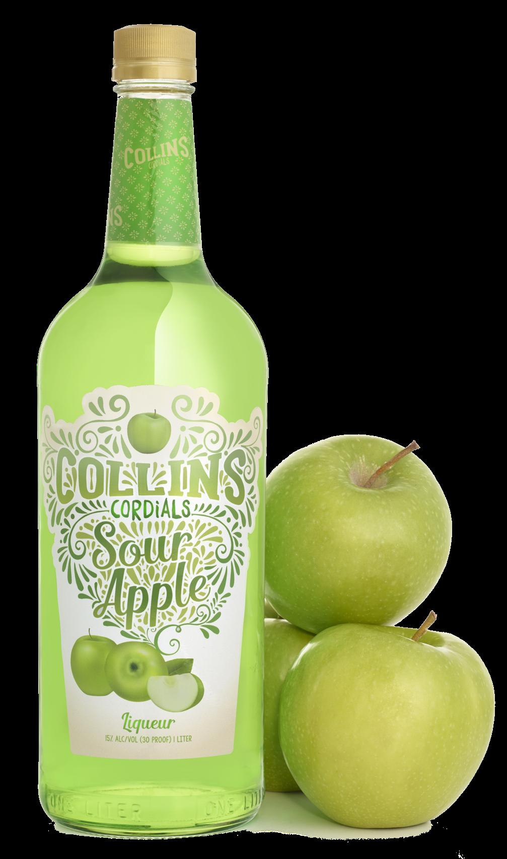 Sour Apple Liqueur | Collins Cordials