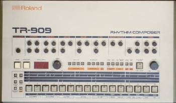 A popular drum machine from Roland.