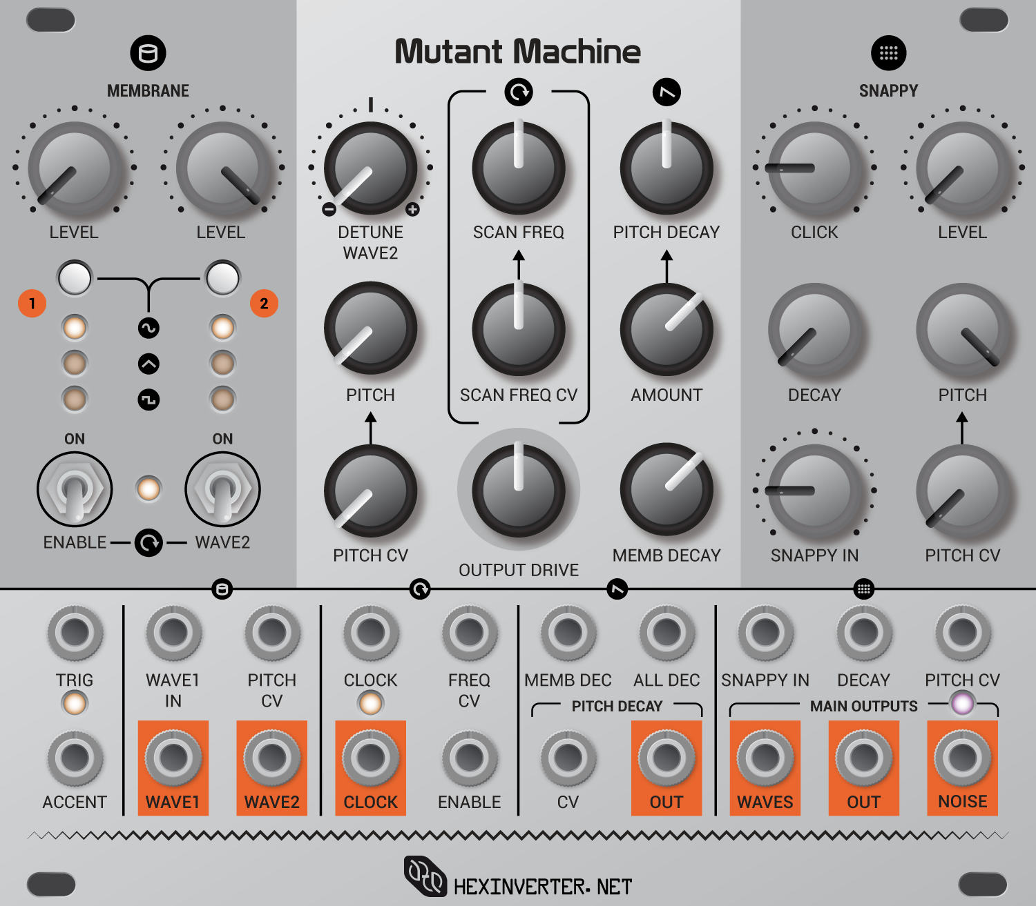 "The Mutant Machine. ""Drum module"" doesn't do it justice."
