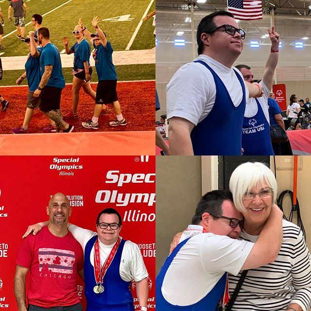 Proud! 3 Golds, 1 Silver! #specialneedsfitness #specialolympics2019 #specialolympicsil #ss4l #speedschoolstcharles #speedschoolathletes #stcharlesil #tricities #strengthandconditioning #speedandagility #training #performance #exercise #strengthtraining #mobility  #noshortcuts #weighttraining #fitness #instafit #herbalife #herbalife24