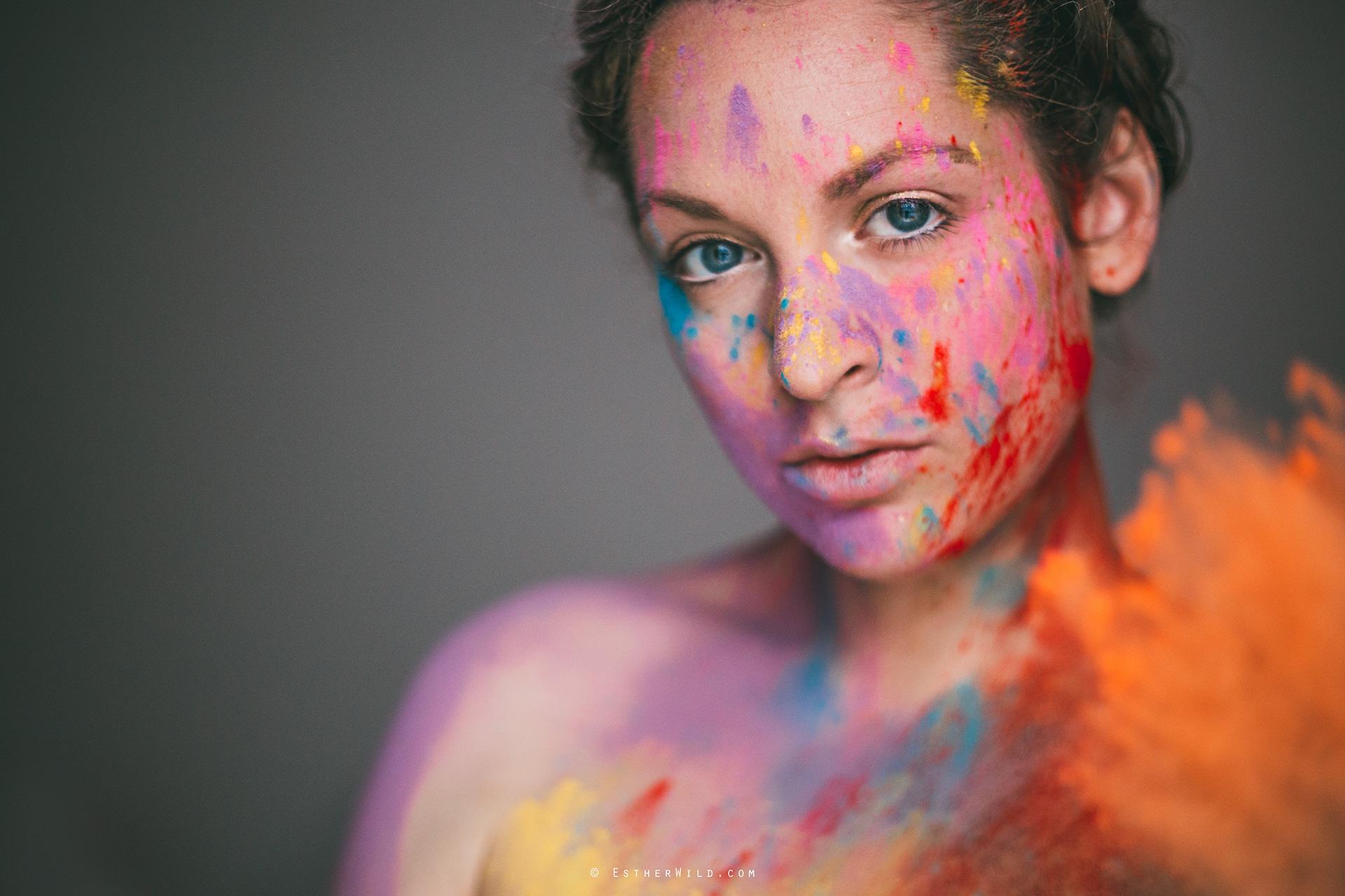 ©EstherWild.com #Holi #Portrait