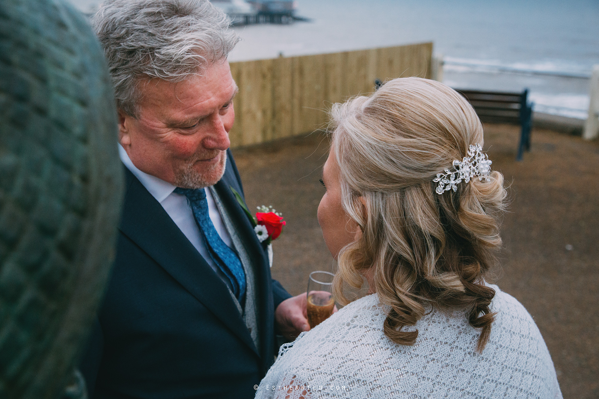 © Norfolk Wedding Photography Cromer Rocket House Registry Sea Beach Esther Wild Photographer (300).jpg
