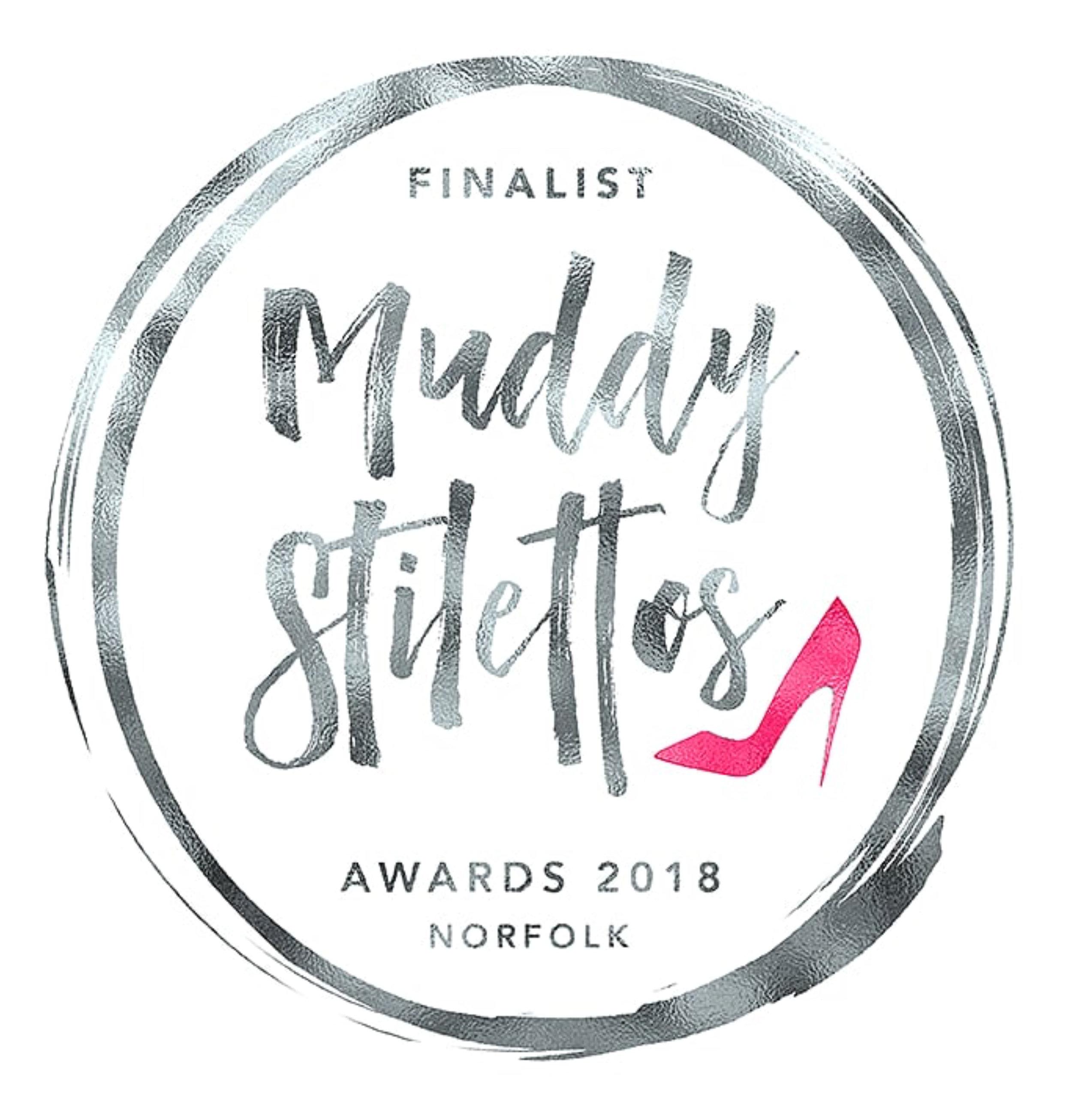Finalist - May 2018Finalist - Muddy Stilletos:Best Wedding Photographer in Norfolk.