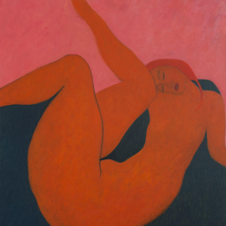 Poster Girl  Oil on Panel 120 x 120 cm £6000.jpg