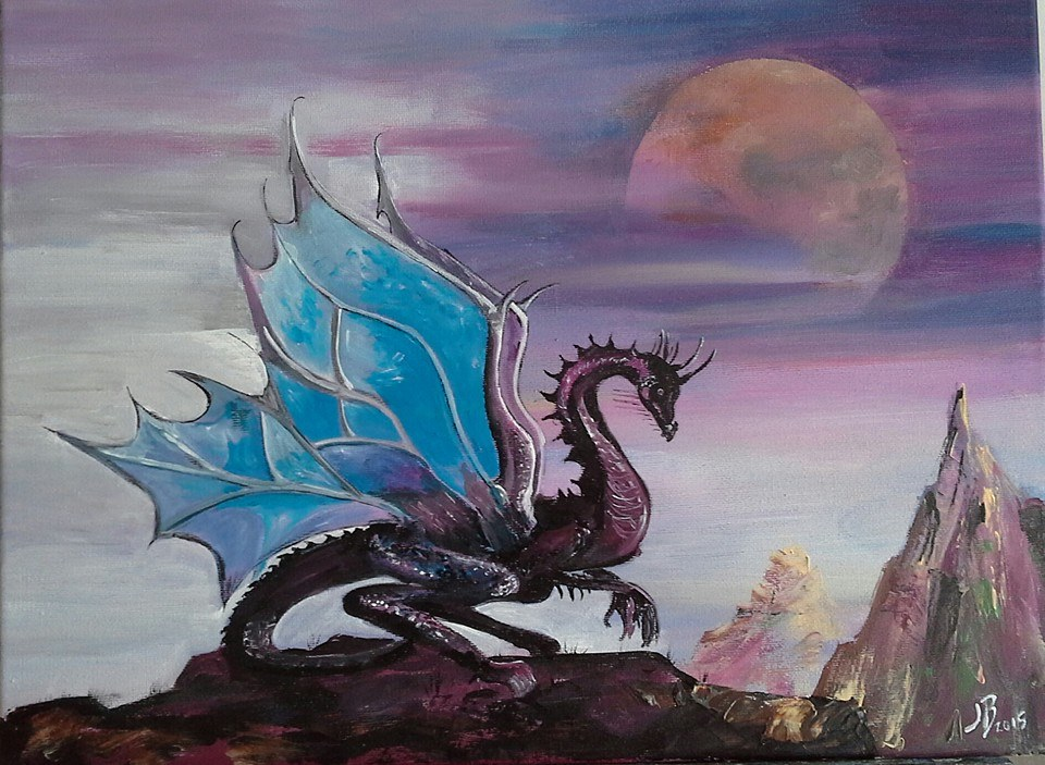 The Dragon for St George's Day