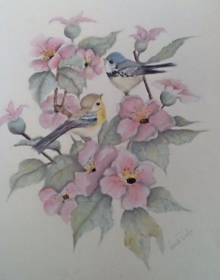 Linda's entry in pastel