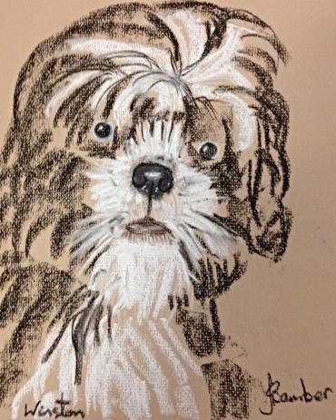 Jimmy's portrait of Winston