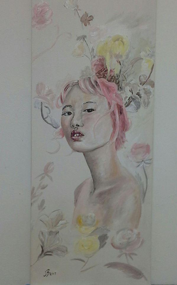Girl in Acrylic