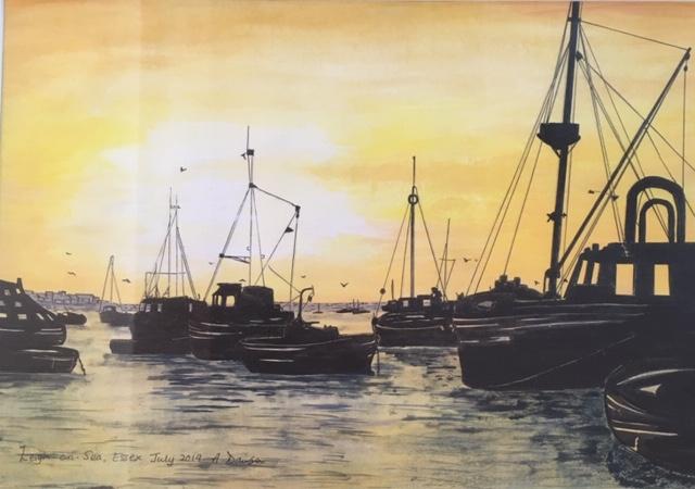 Anna Leigh on sea-mixed media.jpg