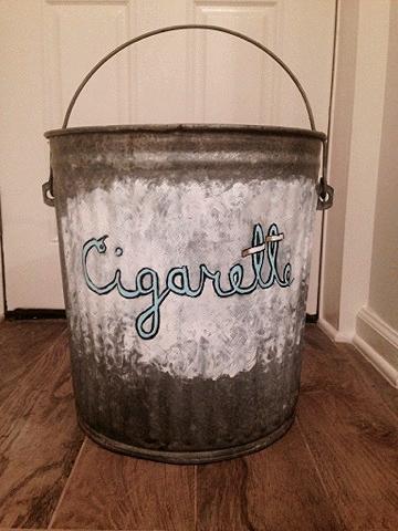 Cigarette Bin