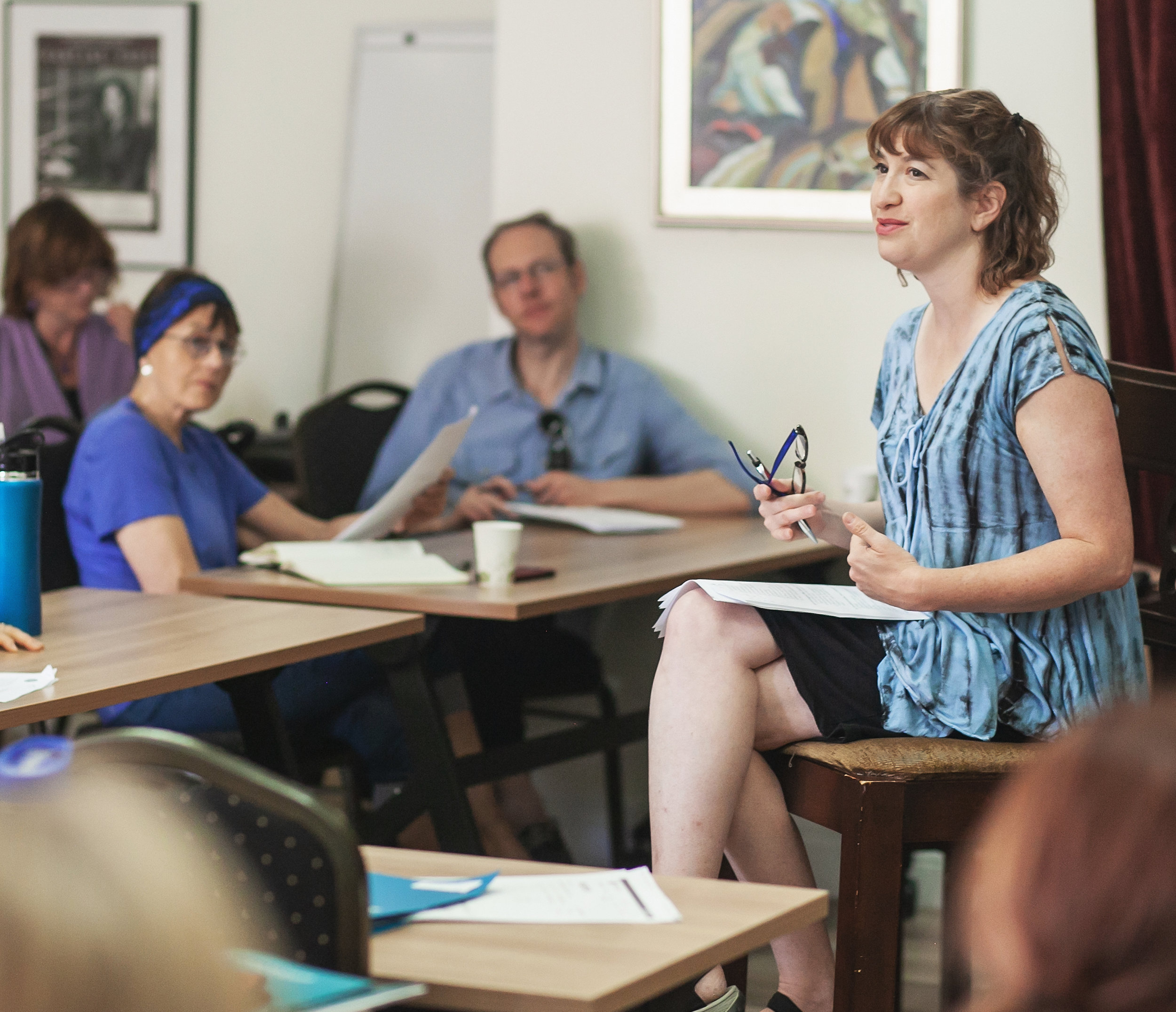 Lit Fest craft class at Lighthouse Writers Workshop in Denver. Photo: Amanda Tipton Photography