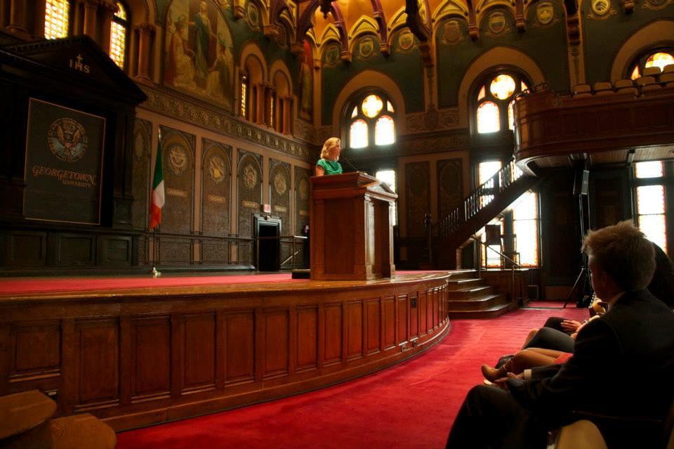 April 15: Irish Ambassador Anne Anderson