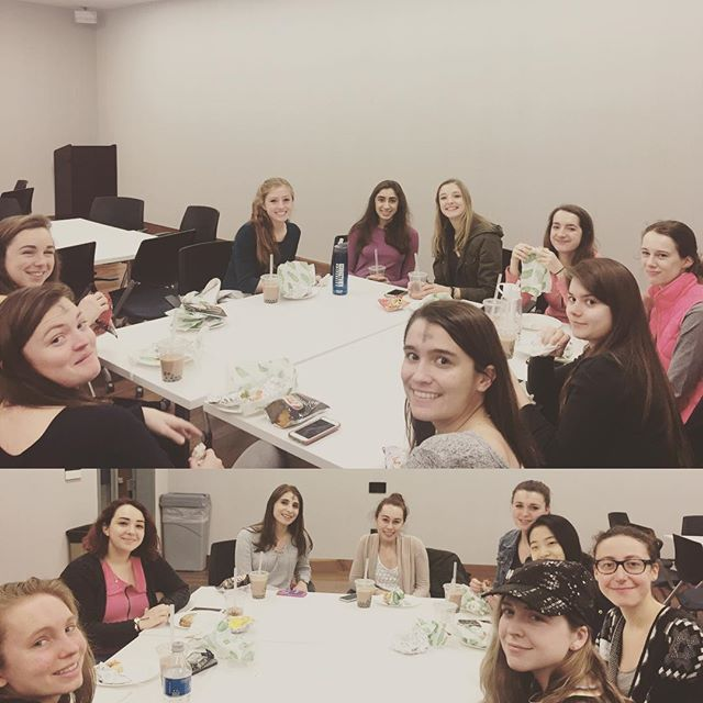 Smiles on smiles at our annual membership dinner! Thanks to @wiseysdc and @georgetownbubble for the yummy sandwiches and tea! 😋