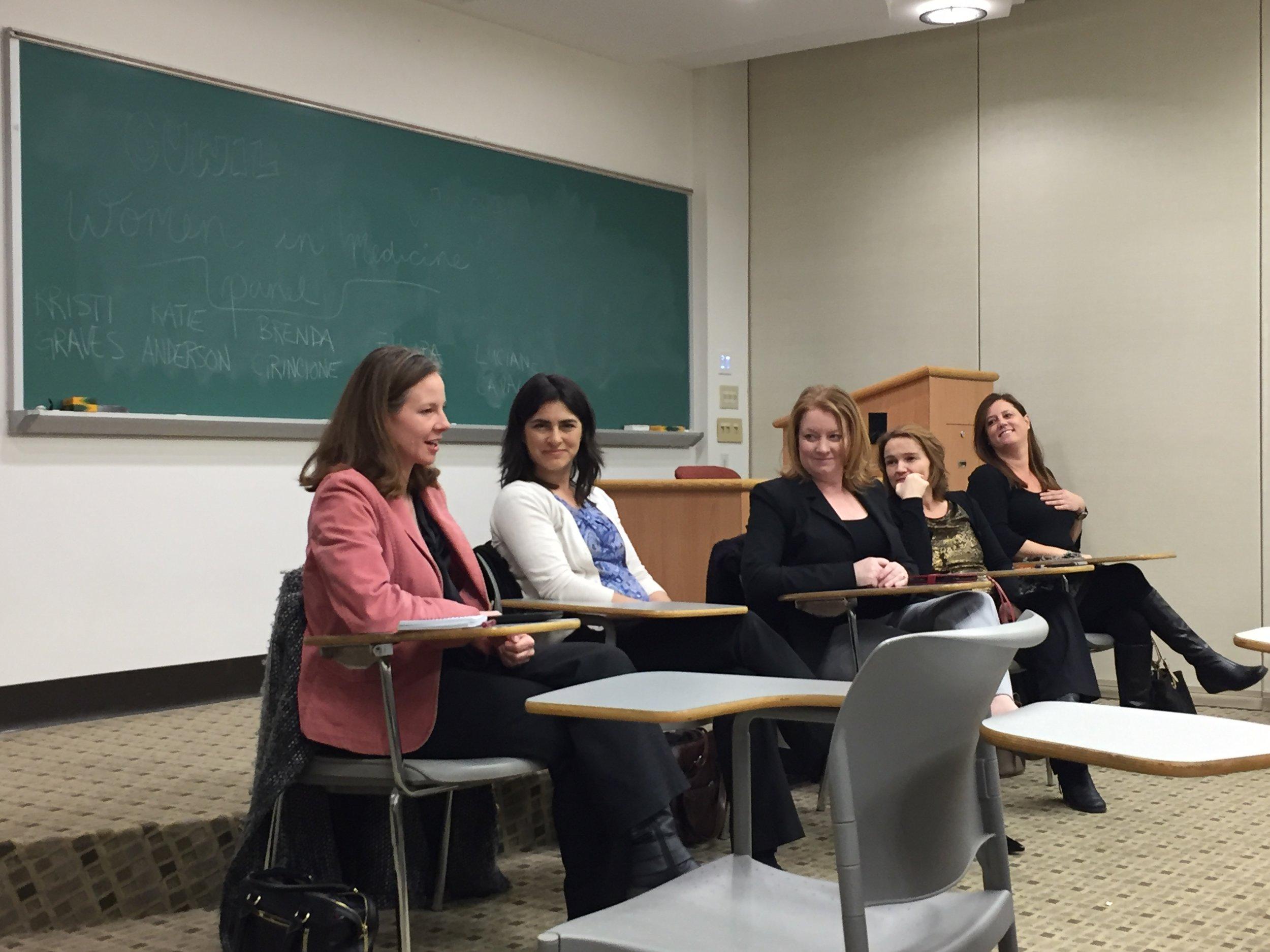 March 15: Women in Med