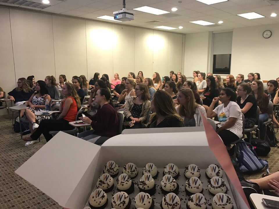 September 27: Cupcakes and Conversations