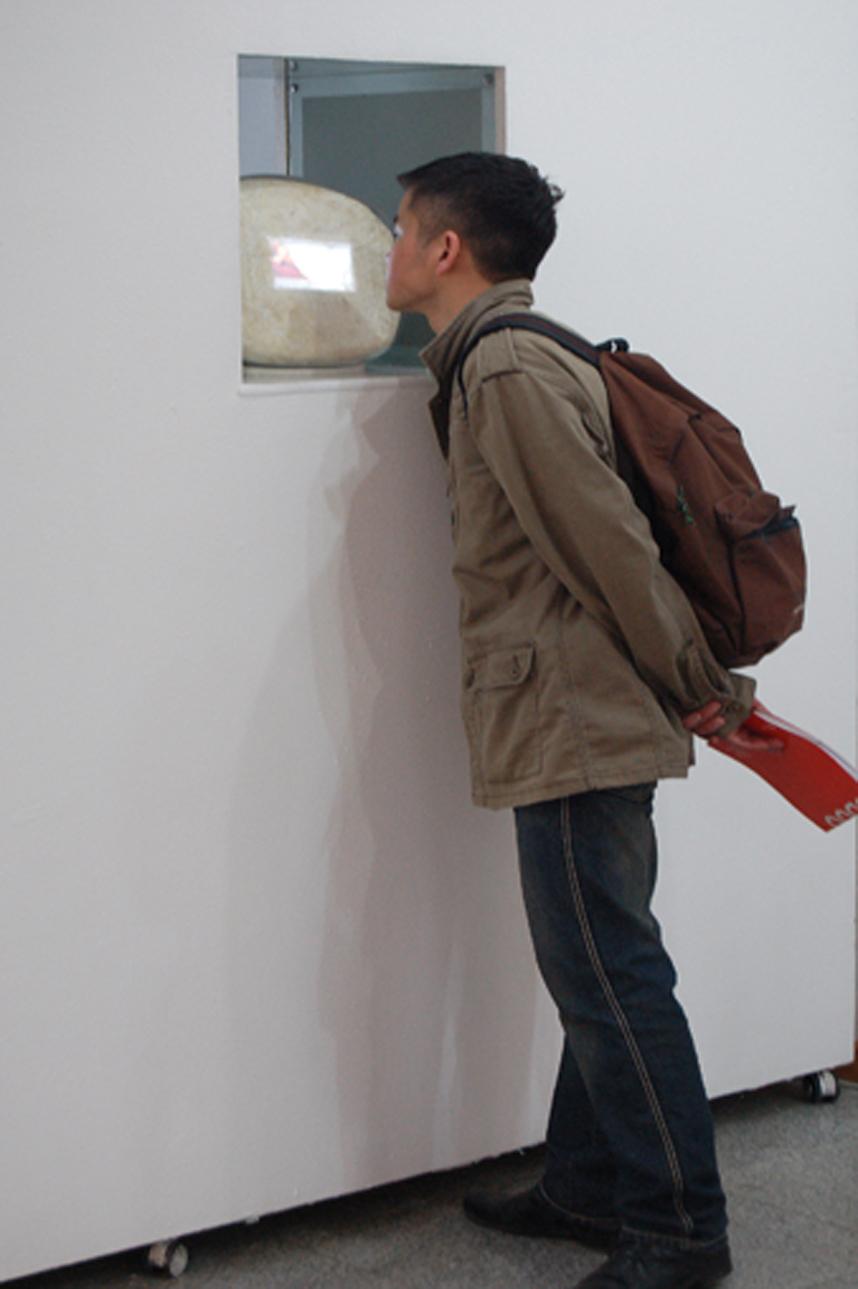 Art student peering at pillow shp lig sml.jpg