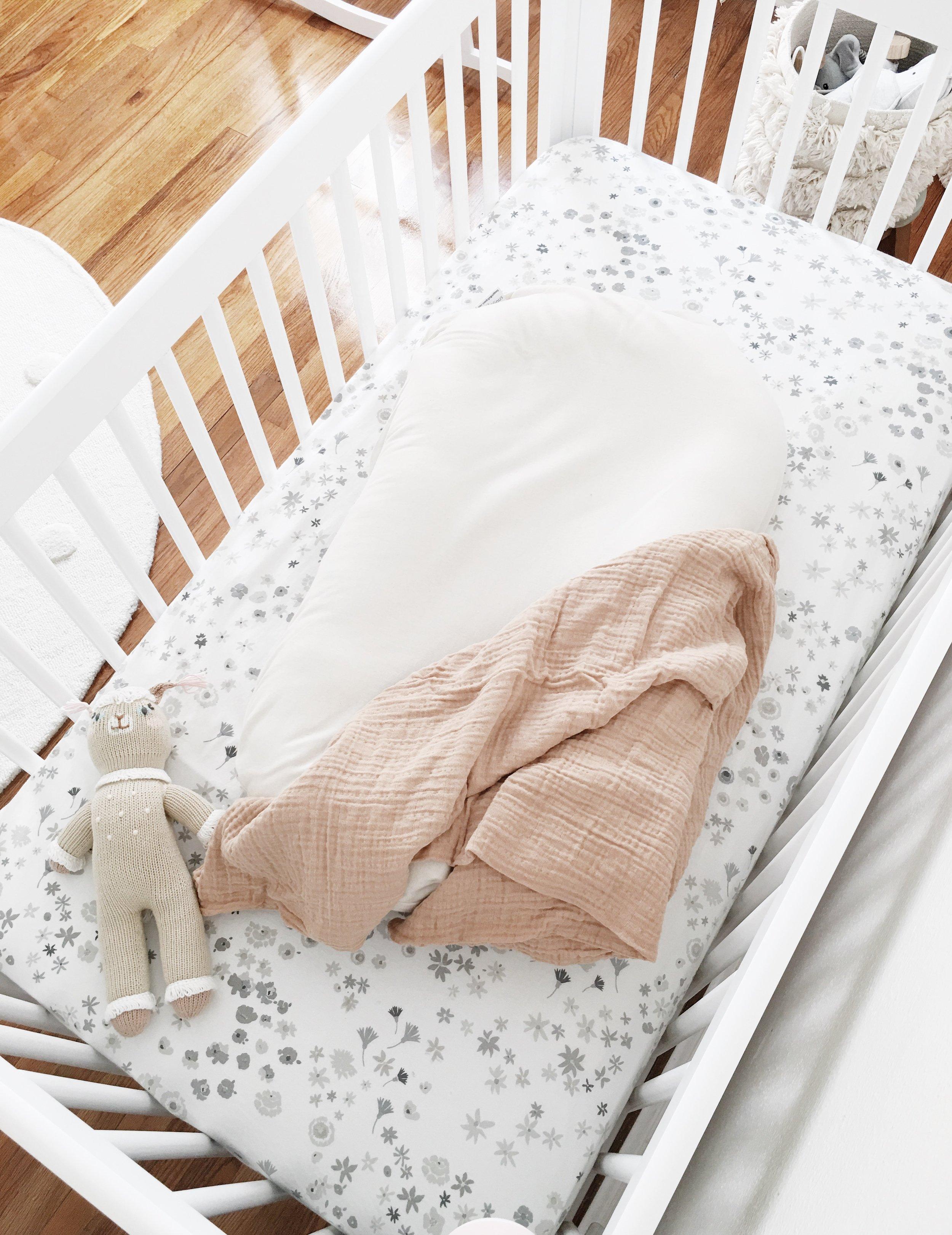 Petit Pehr Monochrome Meadow Crib Sheet