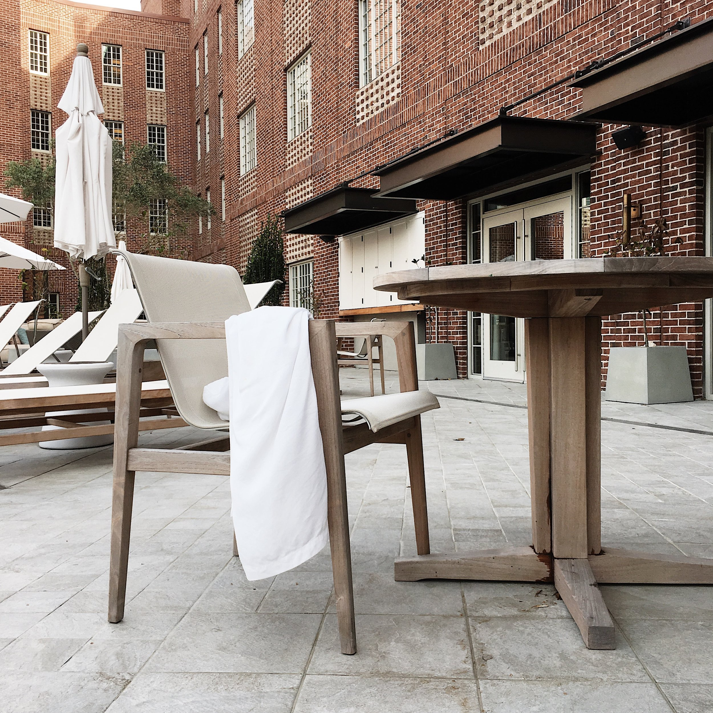 Poolside - The Alida Hotel